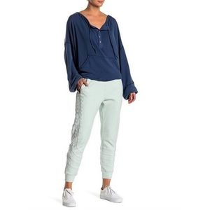 FREE PEOPLE Far Out Movement Mint Joggers